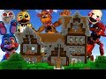 HUGE FNAF MONSTERS INVADED MY MINECRAFT WORLD!!