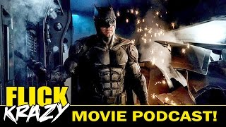 First Look NEW BATMAN Tactical Suit & Blair Witch Talk - FLICK KRAZY EP. 7