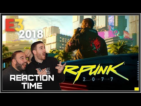 Cyberpunk 2077 E3 2018 Trailer - Reaction Time!