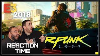Cyberpunk 2077 E3 2018 Trailer - Reaction Time!