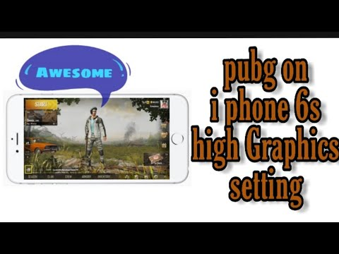 Iphone 6s Pubg Game Play | High Graphics | Pubg Settings.