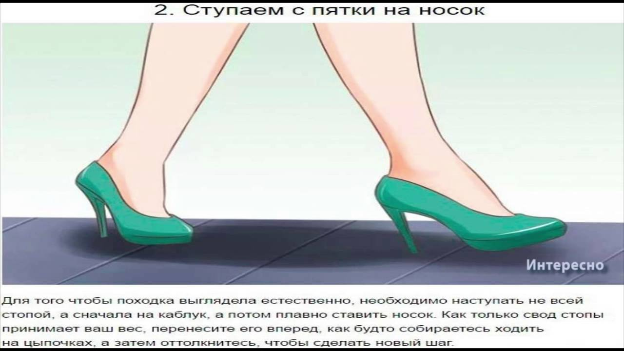 как красиво ходить