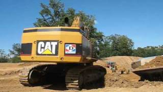Caterpillar 385C and 769D
