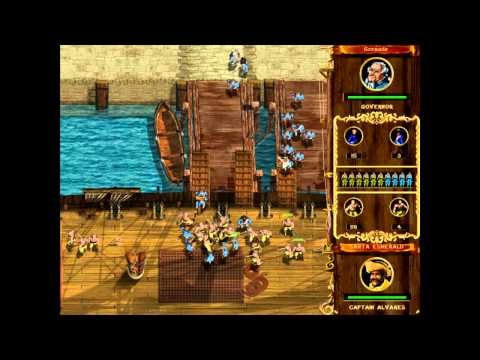 Corsairs : Conquest At Sea (GOLD) Gameplay
