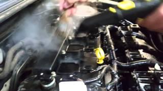 Limpieza de Motor a Vapor.