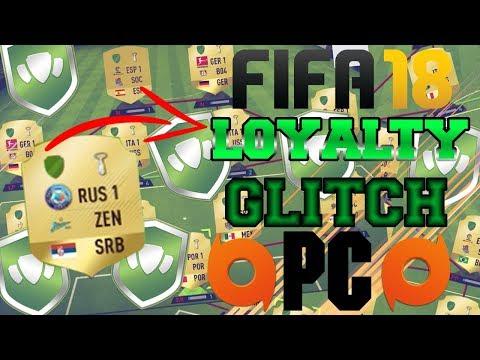 FIFA 18 LOYALTY GLITCH! WORKS ON PC!