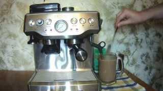 как приготовить какао видео