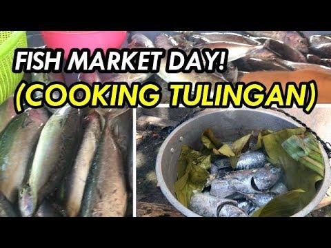 BEST PLACE TO BUY FRESH FISH - CAUSEWAY BRIDGE FISH MARKET TAGBILARAN + COOKING TULINGAN GUIDE