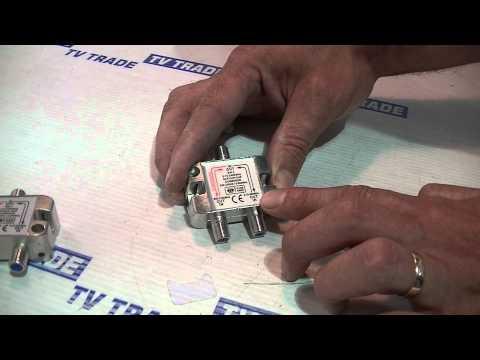 Satellite & TV Aerial Combiner / Diplexer