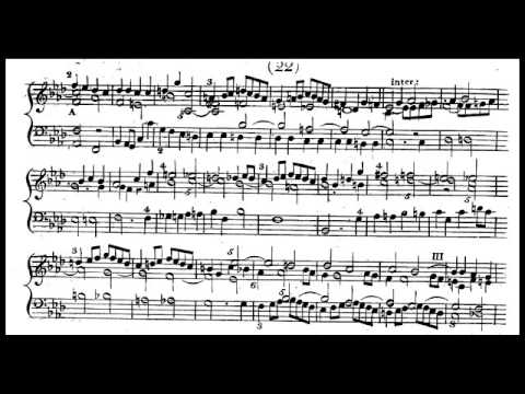 C.C. Hachmeister - Fuga a 6 soggetti (Sextuple Fugue) in F minor
