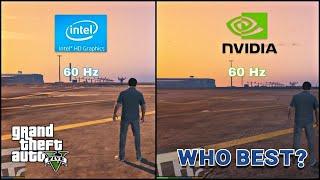 Intel Hd 620 Vs Nvidia 940mx   Test In Gta 5