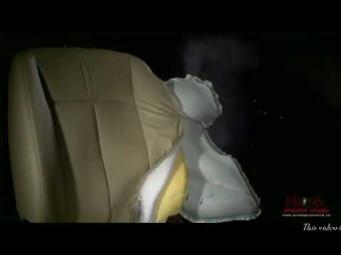 side airbag deployment.