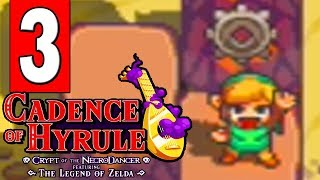 Cadence of Hyrule: Walkthrough Part 3 - GERUDO RUINS 3 GEARS Puzzle Completed