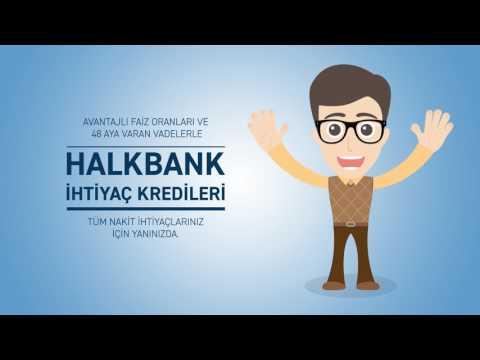 Halkbank İhtiyaç Kredileri ile Yanınızda!