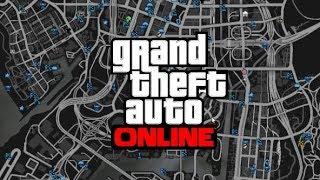 DRIVING THROUGH WHOLE MAP W/ 5 STARS | GTA V Challenge