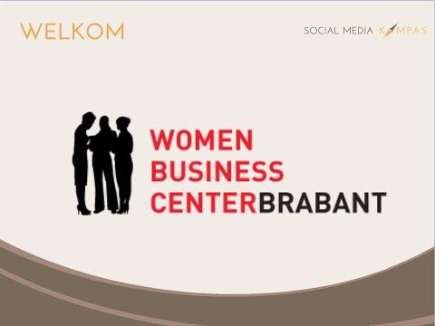 Powerlunch bij Women Business Center Tilburg over het belang van een socialmediastrategie