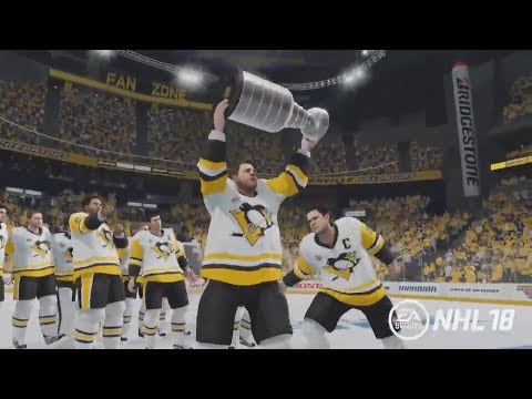 NHL 18 NEW STANLEY CUP CELEBRATION