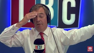 The Nigel Farage Show On Sunday: Tony Blair 2nd Referendum 1/2 Live LBC - 10th September 2017