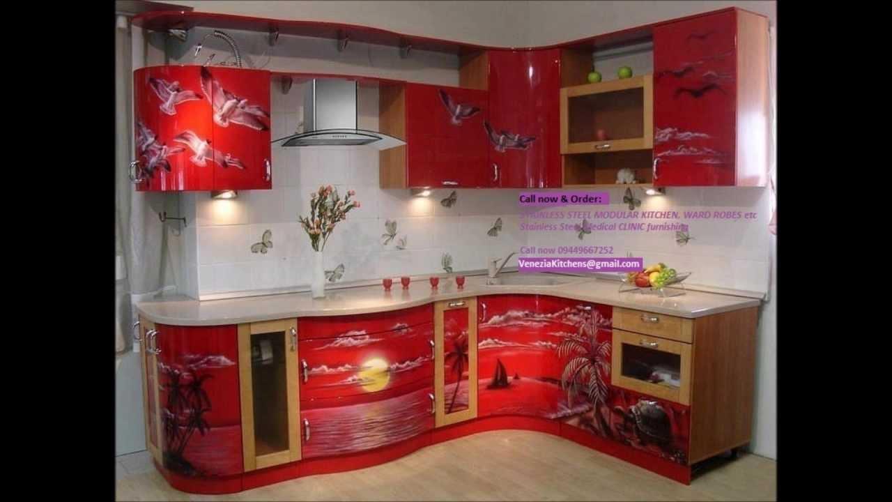Low cost aluminium modular kitchen hand rails call for Modular kitchen designs aluminium
