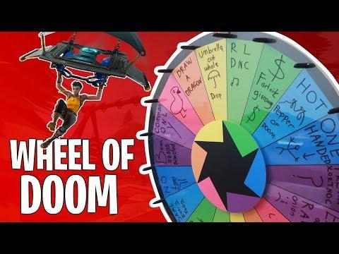 Umbrella Challenge | Fortnite Wheel of Death Edition | E1