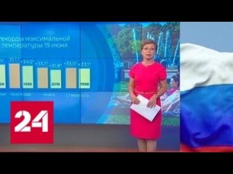 """""""Погода 24"""": когда спадет жара? - Россия 24"""