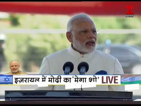'Aapka Swagat Hai Mere Dost' Israeli PM Netanyahu welcomes PM Modi