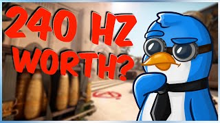 Is 240 Hz really worth it? (CS:GO)