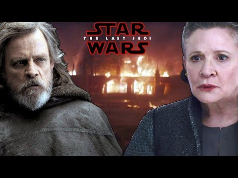 Thumbnail: The Reason Luke Didn't Answer Leia's Cry For Help! (Will There Be A Skywalker Reunion?) - STAR WARS