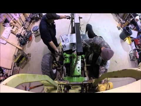 Clark IT-40 Forklift Engine Replacement Part 6 of 9