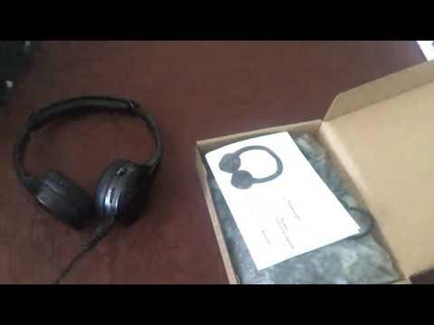 Pumpkin Casque Infrarouge IR sans fil pour Entrée Audio comme Ipad Pod MP3 Lecteur Commentaires