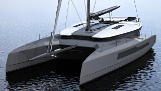 McConaghy Mc50 catamaran 2018 walkthrough at La Grande Motte