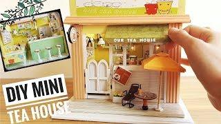 DIY Miniature Tea House Kit