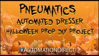 Halloween Pneumatics Prop Diy - Automated Dresser Drawers