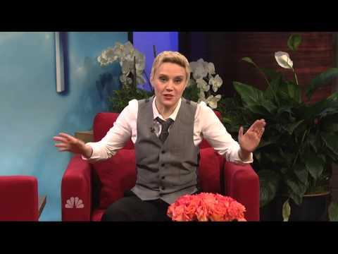 SNL Anne Hathaway in Ellen show