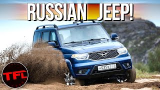 This Crazy Russian 4x4 Is Coming to the U.S. - Wrangler and Bronco Beware?