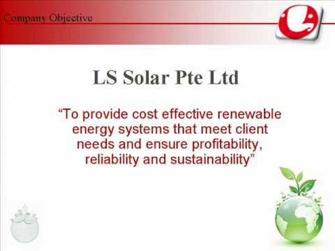 LS Solar Pte Ltd Singapore Company Profile