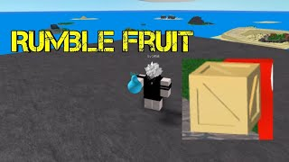 RARE BOX A Rumble Fruit Lost lol-One Piece Legendary-Roblox