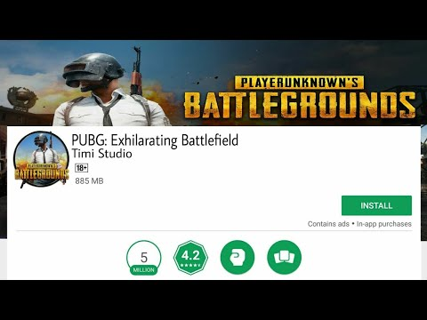 PUBG Mobile Is Available On Google Play Store