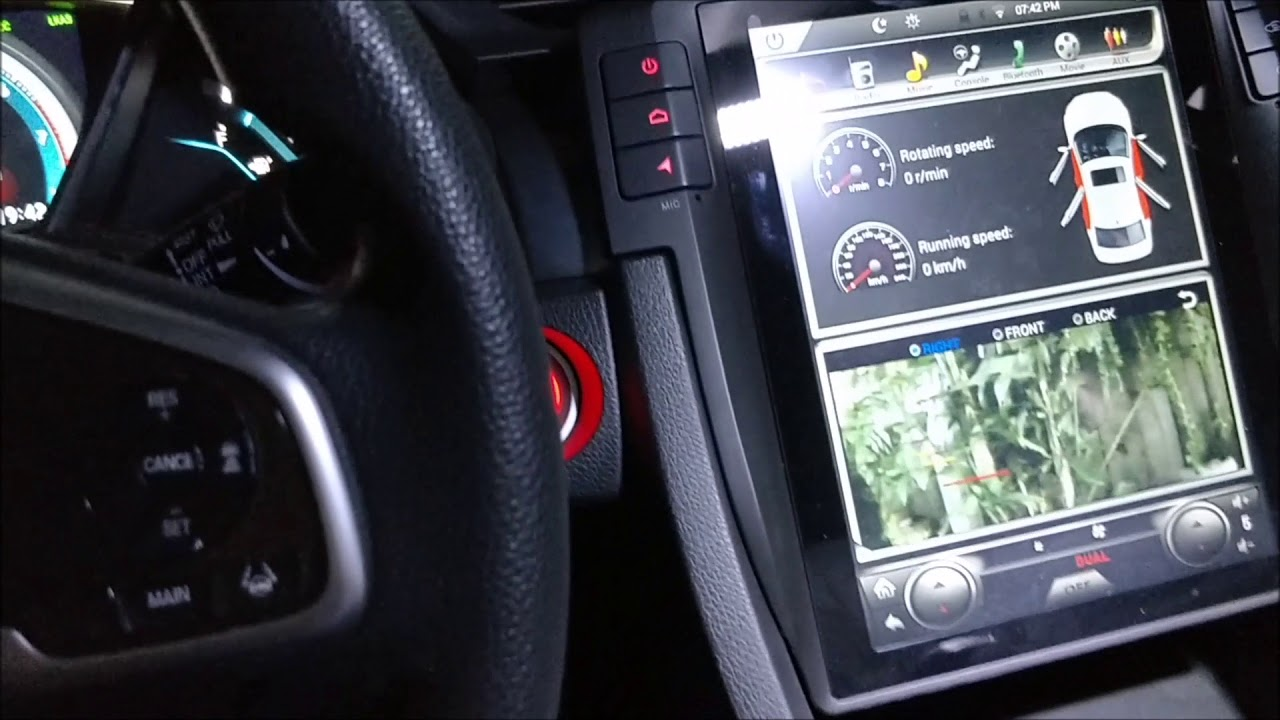 Part 2 Vertical Screen Tesla Style Android Navigation Head