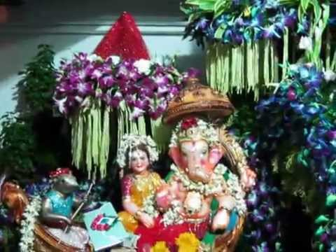 Ganpati Decoration Ideas Jungle Theme