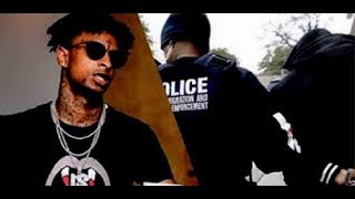 21 Savage Arrested By ICE Facing Deportation Was Living In Ny Illegally Since 2005...DA PRODUCT DVD