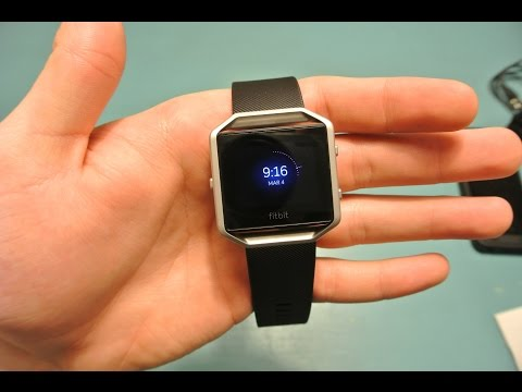FitBit Blaze Unboxing and Setup!