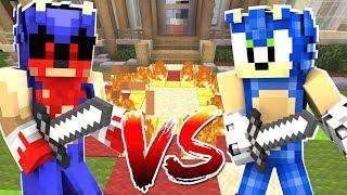 Minecraft Sonic The Hedgehog - SONIC VS SONIC.EXE FINAL BATTLE! [123]