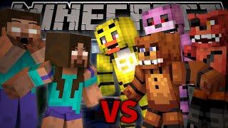 Herobrine s Mom VS FREDDY FAZBEAR Minecraft