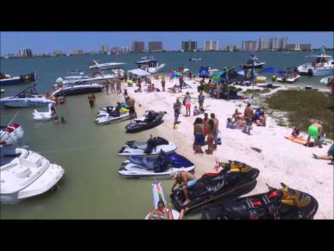 One Tree Island Clearwater Beach Party 1st flight 5-7-16