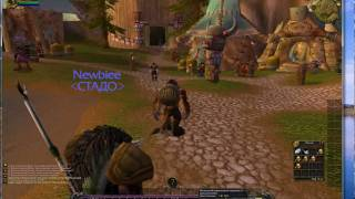 WoW Blood Death Knight Dps Rotation 3.3.5 (Commentary)