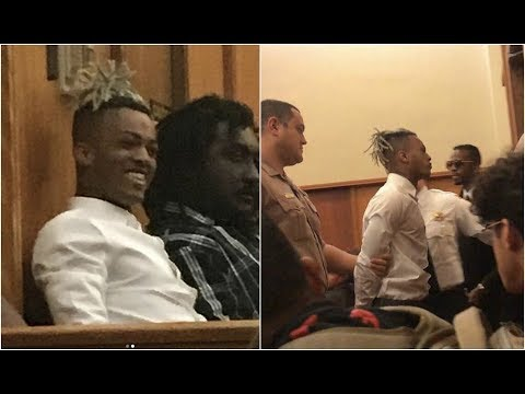 Xxxtentacion Denied Bail After Laughing In Court Sent Straight To Jail