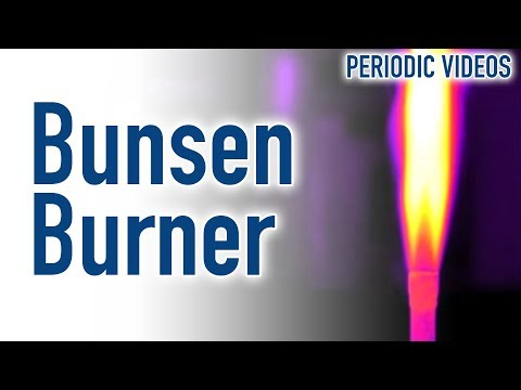 Bunsen Burner (THERMAL IMAGING) - Periodic Table Of Videos