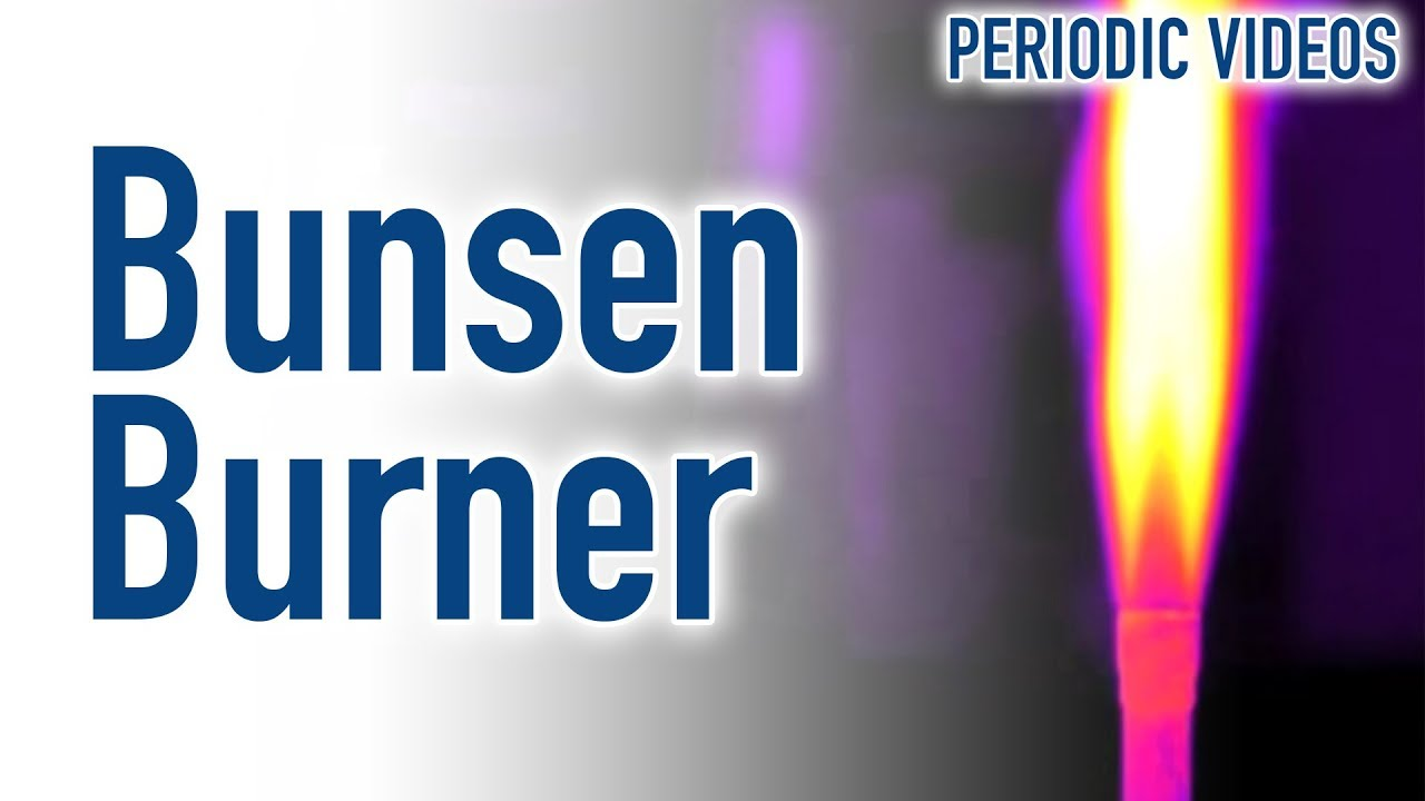 Bunsen burner thermal imaging periodic table of videos youtube urtaz Image collections