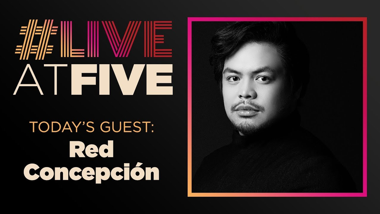 Broadway.com #LiveatFive with Red Concepción of the MISS SAIGON National Tour